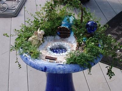 Nice Bird Bath Garden, Bird Bath Garden