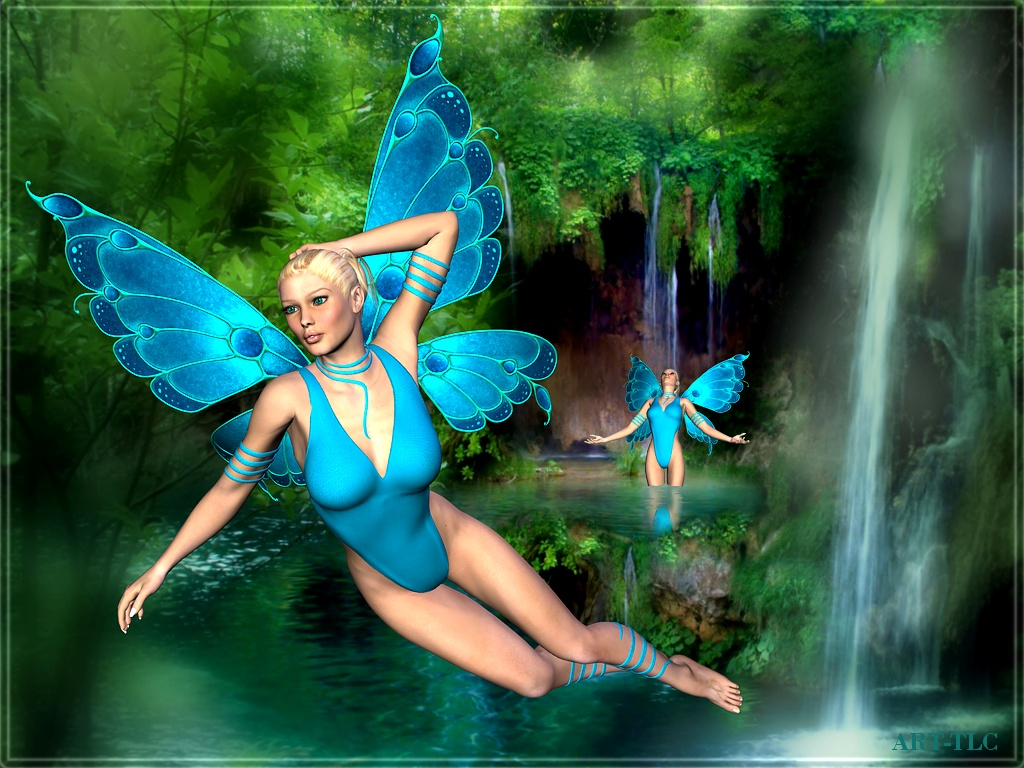 Free wallpapers by art tlc wallpapers tlc fairies of - Free fairy wallpaper and screensavers ...